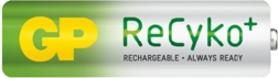 Nabíjecí baterie GP ReCyko+ 2000 mAh HR6 (AA), 2 ks v blistru