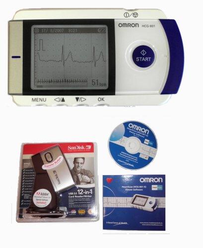 Přenosný EKG monitor OMRON HCG-801-E (IU) - SET