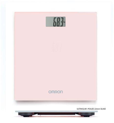 OMRON Osobní váha HN 289-EPK světle růžová