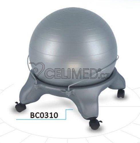Balónová židle GYMY s míčem pro dospělé -BC0310