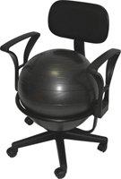 Balónová židle Gymy s míčem pro dospělé - BC0210