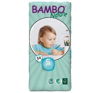 Plenkové kalhotky BAMBO NATURE JUNIOR 54 KS 12-22 KG