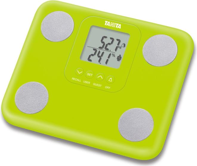 Osobní váha s tělesnou analýzou Tanita BC-730 zelená