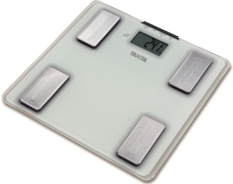 Osobní váha s meřením tuku a vody TANITA UM - 040 perleťově bílá