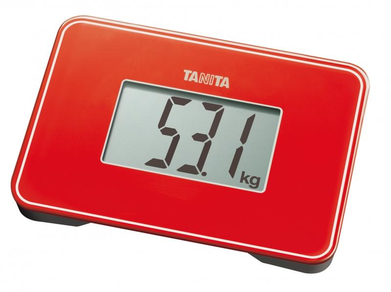 Kompaktní osobní váha TANITA HD - 386 červená
