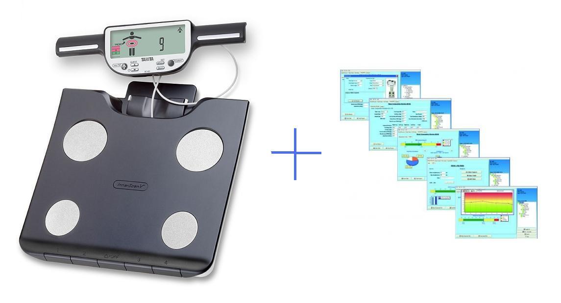 Osobní digitální váha Tanita BC-601 + software GMON