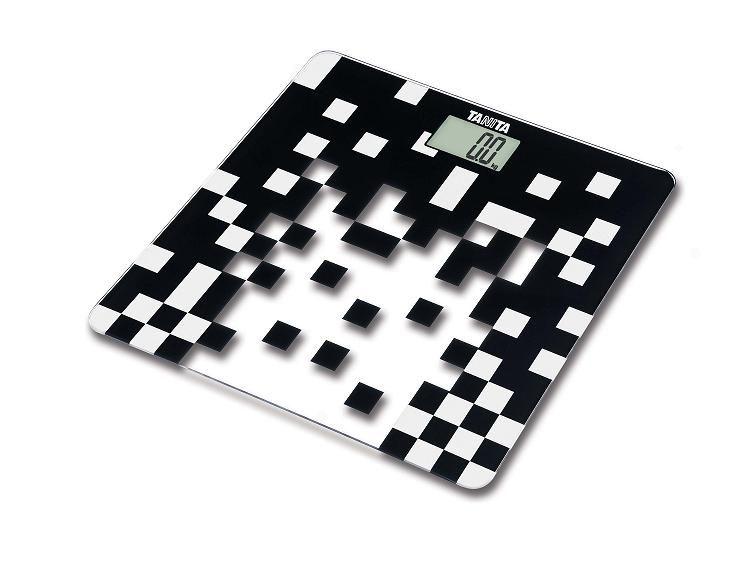 Skleněná digitální váha Tanita HD-380 černá
