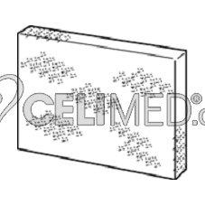 Vzduchový filtr samostatný, bez mřížky pro OMRON NE-U17