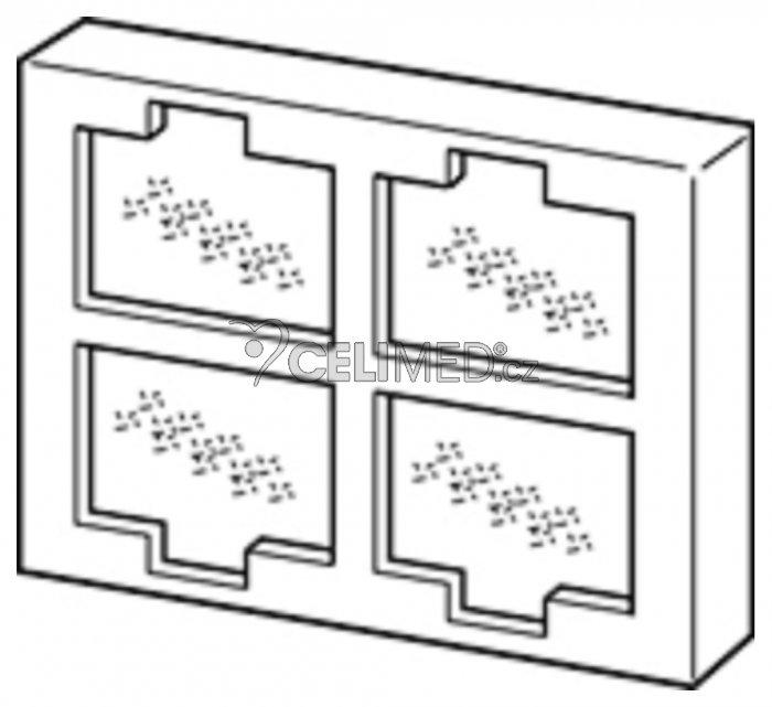 Vzduchový filtr s mřížkou pro OMRON NE-U17