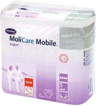Navlékací kalhotky MoliCare Mobile Super Small 14ks