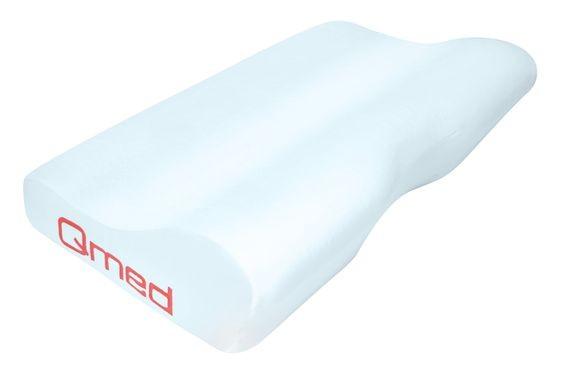 Rehabilitační polštář Qmed - Contour Pillow (výkroj na krk, líná pěna) vel. M