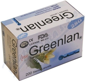 Lancety pro pero ke glukometru Easygluco a Glucolab 200ks