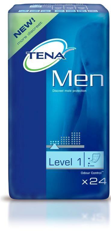 Inkontinenční vložky TENA Men Level 1 24 ks