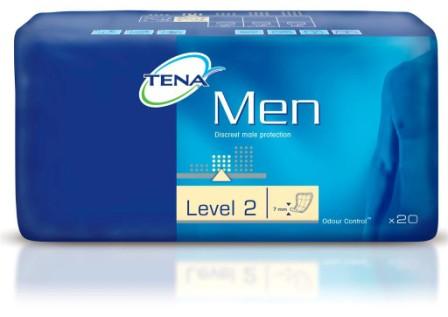 Inkontinenční vložky TENA Men Level 2 20 ks