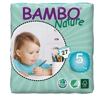 Plenkové kalhotky BAMBO NATURE JUNIOR 27 KS 12-22 KG