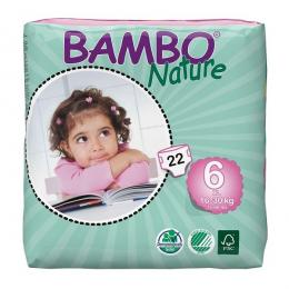 Plenkové kalhotky BAMBO NATURE XL 16-30 KG 22 KS