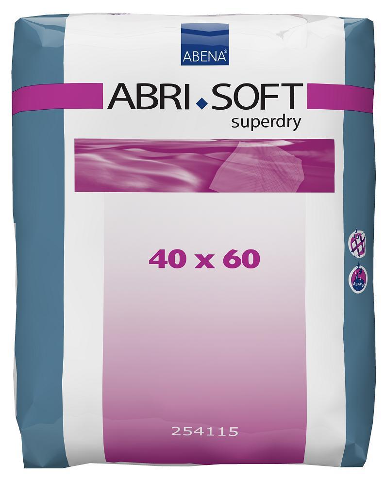 Inkontinenční podložky ABRI SOFT SUPERDRY 40x60 cm, 60 ks