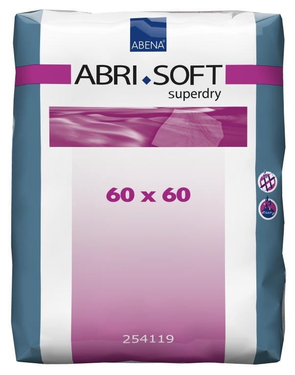 Inkontinenční podložky ABRI SOFT SUPERDRY 60x60 cm, 60 ks
