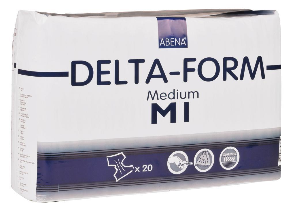 Plenkové kalhotky DELTA FORM M1 20 ks
