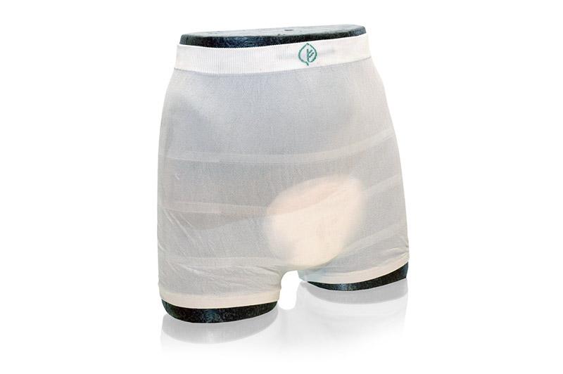 Punčochové fixační kalhotky zesílené ABRI - FIX LEAF MEDIUM 1 ks