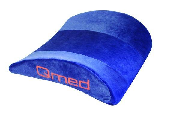Polštář bederní Qmed - Lumbar Support Soft (líná pěna)