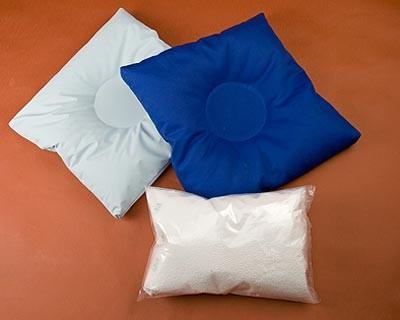 Podložka sedací PALIA 49x49cm/polštář rektální/ bavlna se zipem