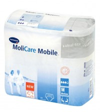 Inkont. kalh. MOLICARE MOBILE 6kapek Medium 14ks