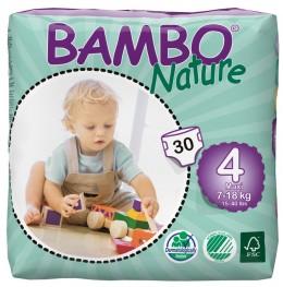 Plenkové kalhotky Bambo Nature 4 MAXI 30 ks 7-18 kg