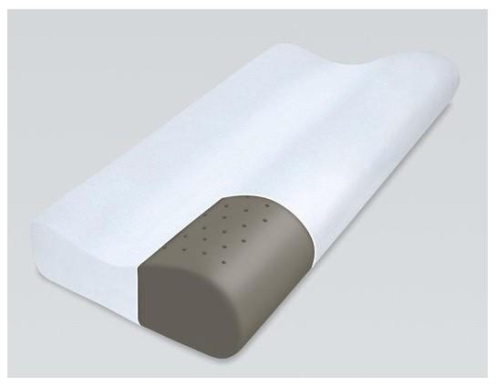 Rehabilitační polštář Qmed - Bamboo Pillow (líná pěna + bambusové vlákno)