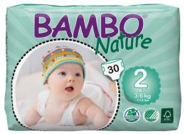 BAMBO Nature Mini plenkové kalhotky 3-6kg 30ks