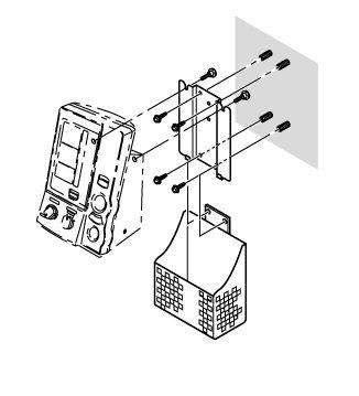 Držák na zeď pro tlakoměr OMRON 907