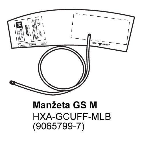Manžeta GS-M pro tlakoměry OMRON 1100 a 1300