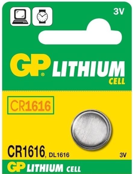 Baterie GP CR1616 1 ks