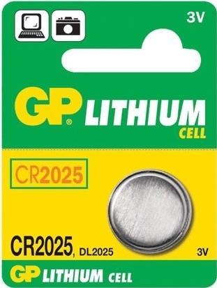 Baterie GP CR2025 1 ks