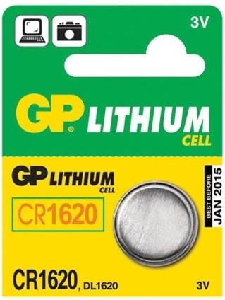 Baterie GP CR1620 1 ks