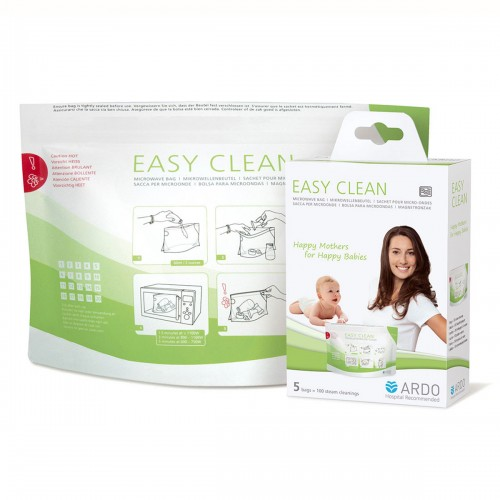 ARDO EasyClean sterilizační sáček do mikrovlnné trouby 5 ks