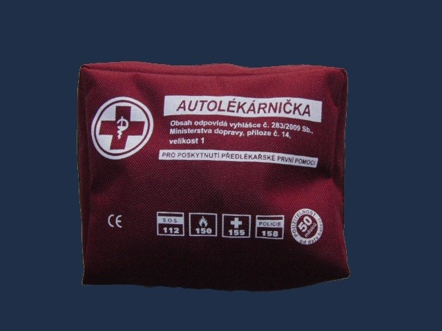Autolékárnička TYP I taška 0528