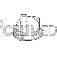 Kryt medikačního tanku pro OMRON NE-U17