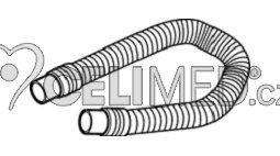 Inhalační hadice SEBS, typ M, 70 cm pro OMRON NE-U17