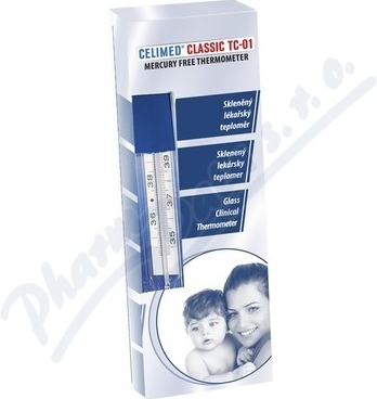 Teploměr lékařský bezrtuťový CELIMED TC01 CLASSIC
