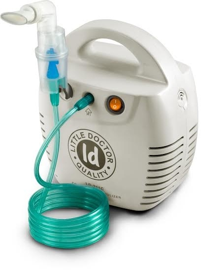 Kompresorový inhalátor Little Doctor LD-211C bílý