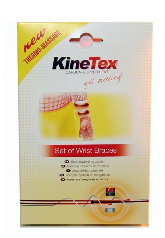 KineTex sada návleků na zápěstí S/M