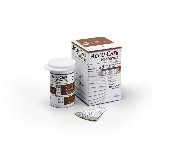 Accu-Chek Performa 50 testovací proužky pro glukometr