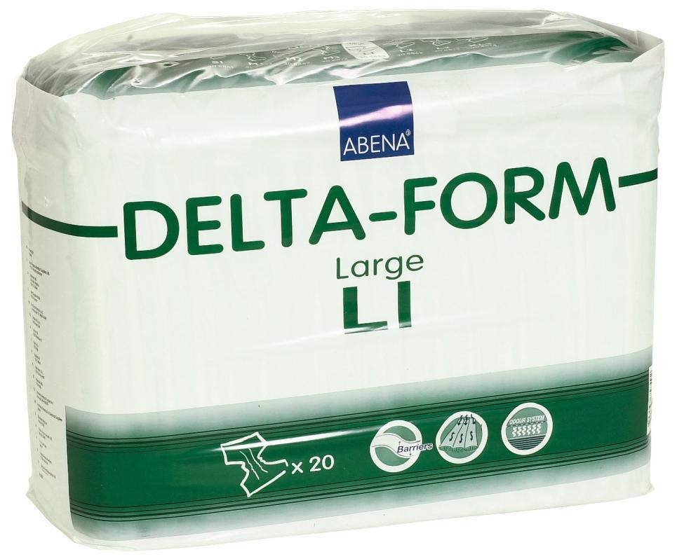 Plenkové kalhotky DELTA FORM L1 20 ks
