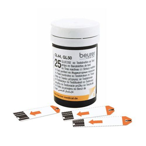 Testovací proužky pro glukometr Beurer GL44/GL50 2x25ks
